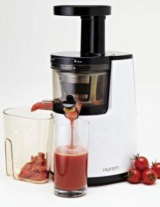 Recensione estrattore di succo a freddo Hurom HH-WBE11 - 40 giri al minuto - Oasi del succo