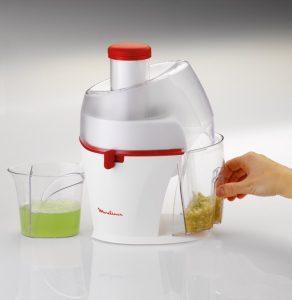Recensione centrifuga Moulinex JU320 Juicer - Contenitore polpa e scarti - Oasi del succo
