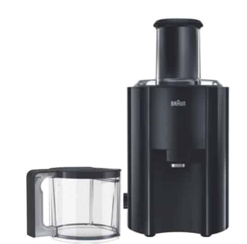 Recensione centrifuga Braun J300 Multiquick 3 - Motore da 800 watt - Oasi del succo