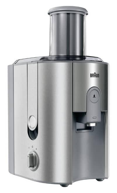 Recensione centrifuga Braun Multiquick 7 J700 - Motore 1000 watt - Oasi del succo